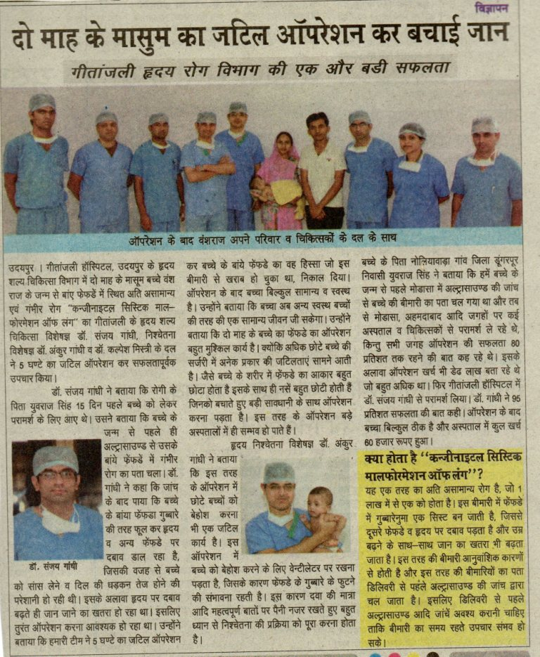 Best Cardiac Surgeon in Rajasthan